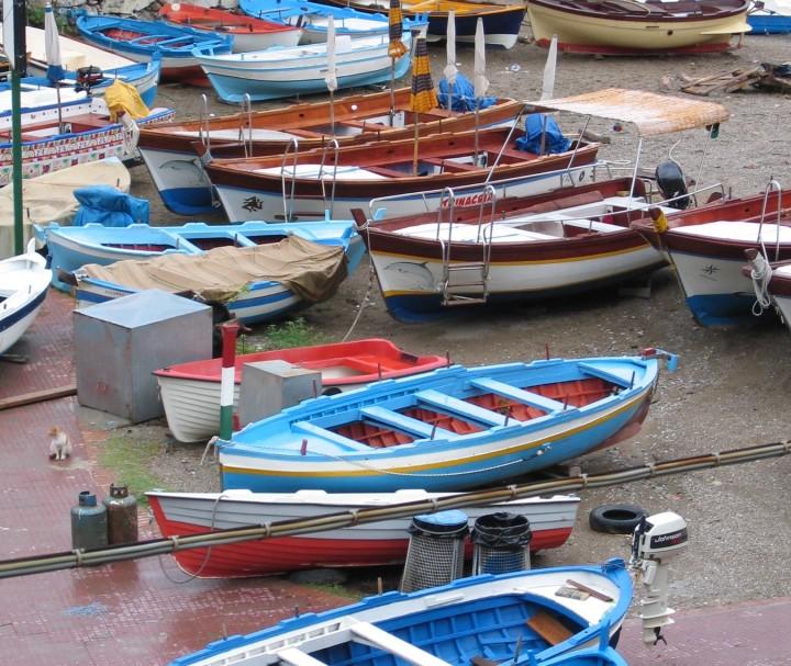 boats taormina