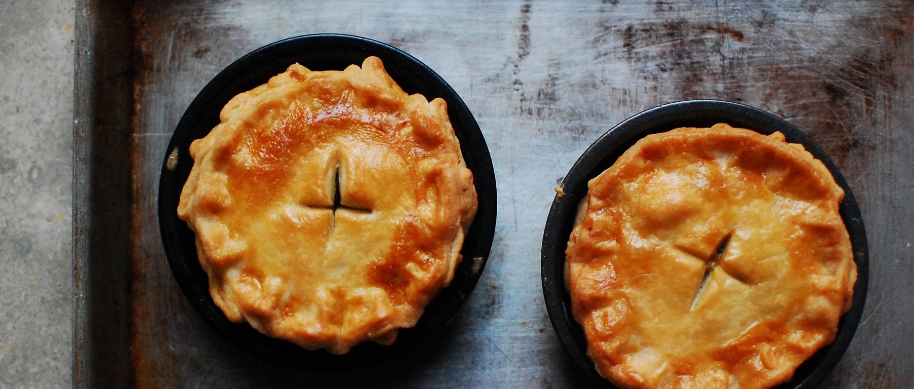Australian Classics Meat Pies N Sausage Rolls Rustica Retro